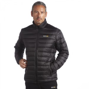 Regatta Mens Iceway Down Jacket Black