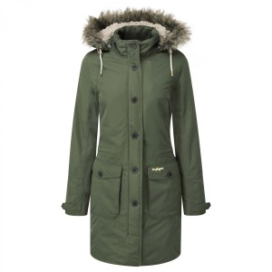 Craghoppers W Cayley Parka Parka Green