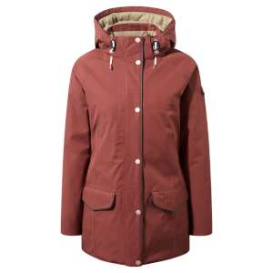 Craghoppers Womens 250 Jacket Dark Red