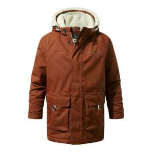 Craghoppers Kids Pherson Jacket Burnt