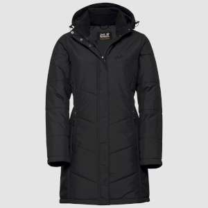 Jack Wolfskin Womens Svalbard Coat Bla