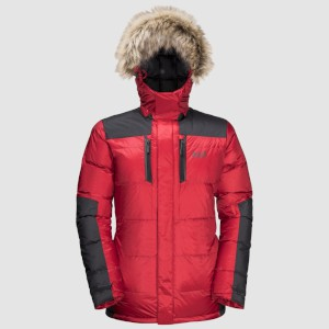 Jack Wolfskin The Cook Parka Red Lacqu