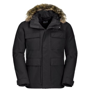 Jack Wolfskin Point Barrow Black