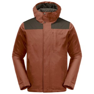 Jack-Wolfskin Oakwood Jacket Copper