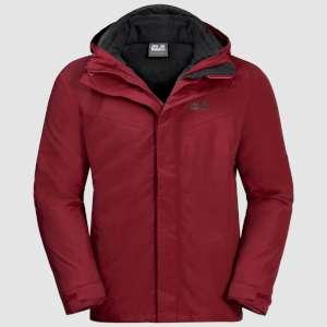 Jack Wolfskin Gotland 3in1 Jacket Red