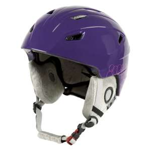 Manbi Park Kids Ski Helmet Fig Circles