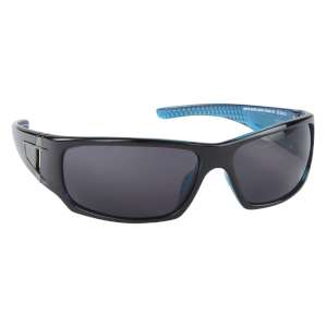 Manbi Rush Sunglasses Cat 3 Black/Blue