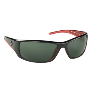Manbi Zone Sunglasses Cat 3 Black/Red
