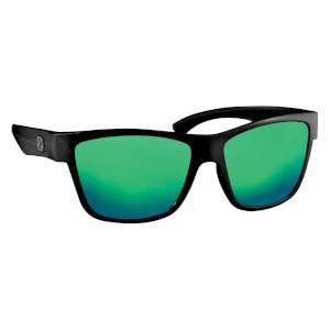 Manbi Fuse Sunglasses Black C/Green