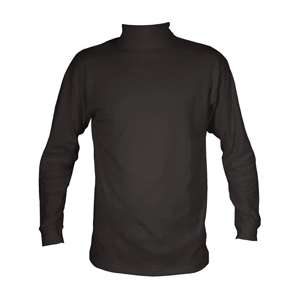Manbi Cotton Roll Neck Black