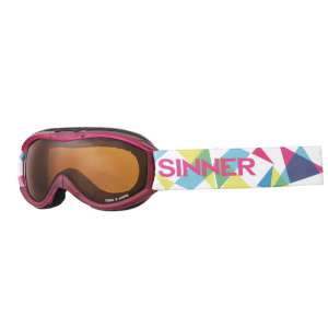 Sinner Junior Toxic S Goggles Pink Mat