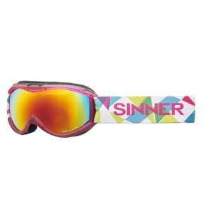 Sinner Toxic S Double Red Revo Goggle