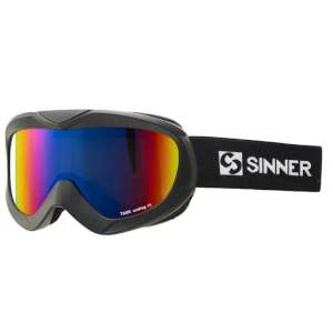 Sinner Task Double Red Revo Goggles Bl