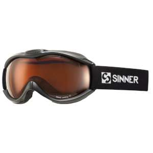 Sinner Toxic Dbl Orange Vent Goggles B