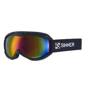 Sinner Toxic Red Revo Vent Goggles Bla