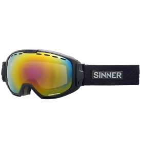 Sinner Mohawk Dbl Red Mirror Vent Blac