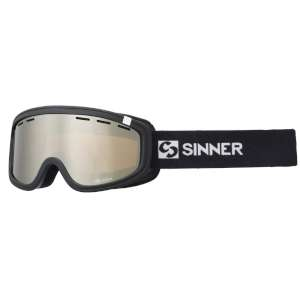 Sinner Visor III Dbl Orange Mirror Bla