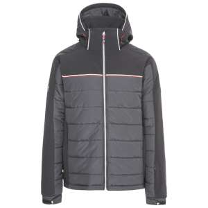 Trespass Drafted Ski Jacket Black/Whit