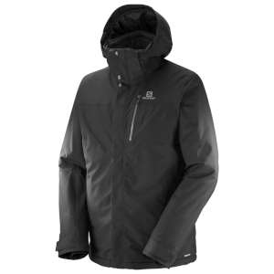 Salomon M Fantasy Jacket Black Heather