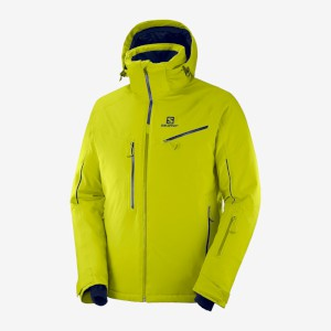 Salomon Ice Speed Jacket Citronelle