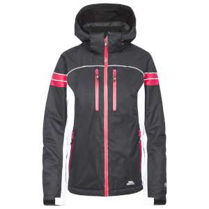 Trespass Womens Locki Ski Jacket Black