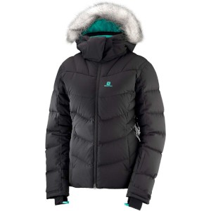Salomon Womens Icetown Ski Jacket Blac