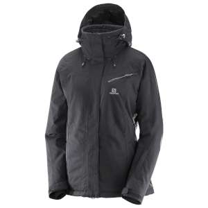Salomon Womens Fantasy Ski Jacket Blac