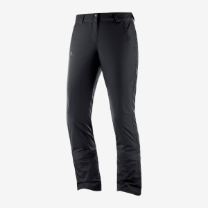 Salomon Womens Stormseason Pant Black
