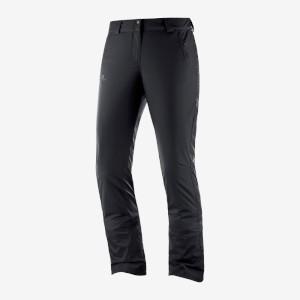 Salomon Womens Stormseason Pant Black