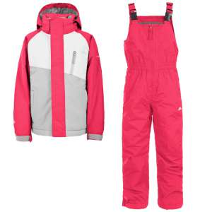 Trespass Kids Crawley 2pc Ski Suit Ras