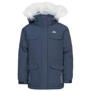 Trespass Girls Doll Ski Jacket Navy