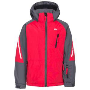 Trespass Kids Debunk Ski Jacket Red/Ca