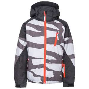 Trespass Boys Shredded Ski Jacket Carb