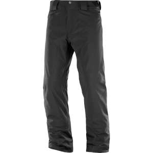 Salomon Mens Icemania Ski Pants Black