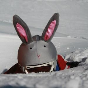 Coolcasc Coolcasc Helmet Cover Bunny