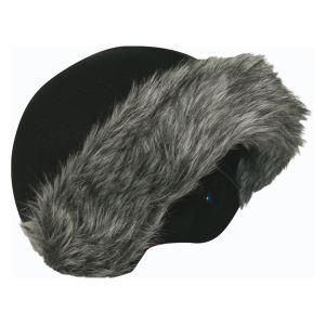 Coolcasc Coolcasc Helmet Cover Fox Fur