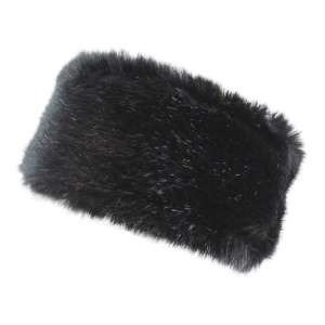 Manby Womens Alicia Faux Fur Headband