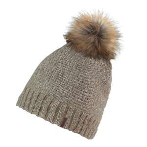 Manbi Womens Lauren Hat Oatmeal Lurex