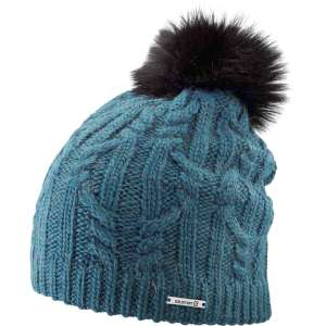 Salomon Womens Ivy Beanie Deep Lagoon