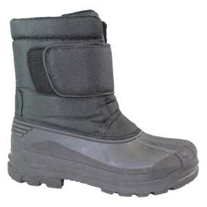 Manbi Alaska Winter Boot Black