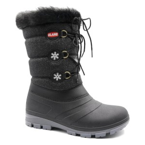 Olang Womens Patty Lux Winter Boot Bla