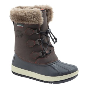Manbi Kids Nanouk Snow Boot Brown