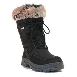 Mammal Womens Squaw Winter Boots Black