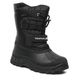 Trespass Kids Dodo Apres Ski Boot Blac