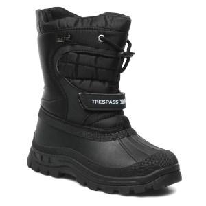 Trespass Kids Dodo Apres Ski Boot Blac