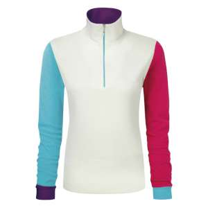 Manbie Womens Multicolour Microfleece