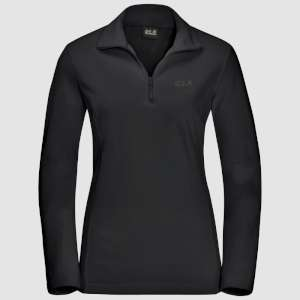 Jack Wolfskin Womens Gecko Fleece Blac
