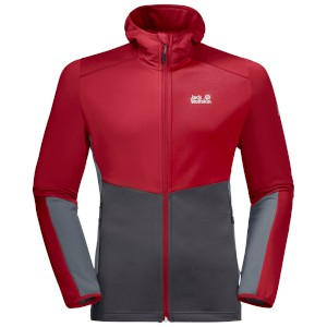 Jack-Wolfskin Mount Isa Fleece Red Laq