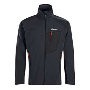 Berghaus Ghlas Softshell Jacket Black