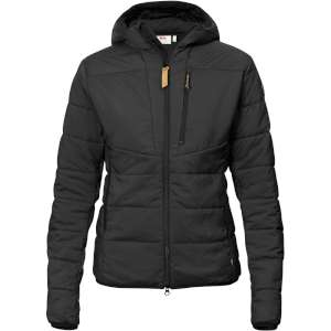 Fjallraven Womens Keb Padded Hoodie Bl